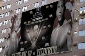 Heated press conference: Eubank Jr. and Yildirim head-to-head in Stuttgart
