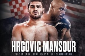 Mansour replaces Cornish as Hrgović opponent for September 8