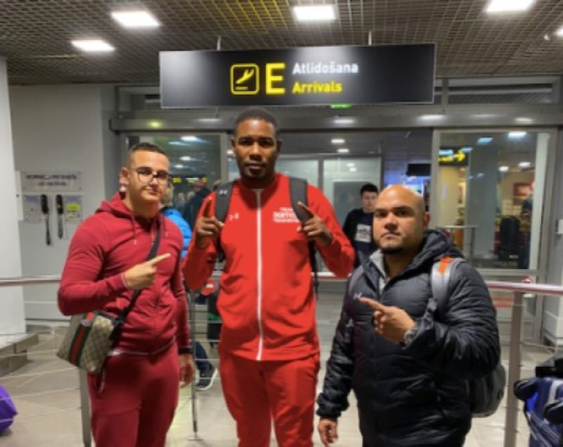 """Dorticos in Riga to face-off with Briedis: """"I'm gonna knock him out!"""""""