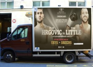 Hrgovic-Little heavyweight showdown set for Usyk-Briedis undercard