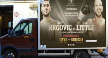 Hrgovic-Little heavyweight showdown set for Usyk-Briedis undercard