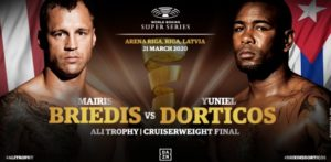 Ali Trophy, IBF title & Ring belt on the line for Briedis & Dorticos