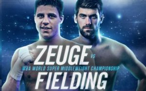 Zeuge defends WBA World title against Fielding on July 14 in Offenburg